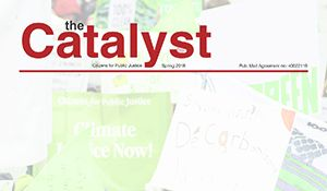 the Catalyst, Spring 2018