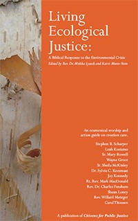 Living Ecological Justice - book cover